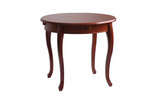 столы из дерева круглые фото