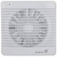 Soler & Palau DECOR-300 CH - бытовой вентилятор с обратным клапаном, таймером и датчиком влажности