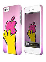 Чехол для iPhone 4/4s/5/5s/5с,Симпсон