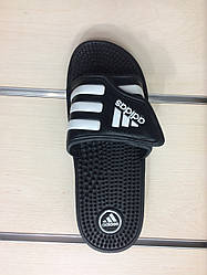 Мужские шлепанцы Adidas Black