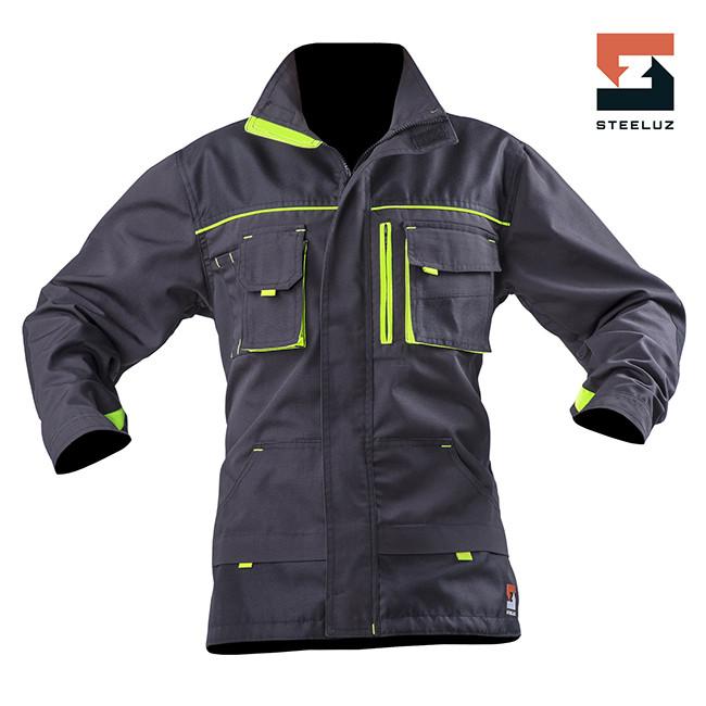 Куртка рабочая SteelUZ с салатовой отделкой с салатовой отделкой LT