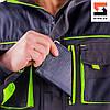 Куртка рабочая SteelUZ с салатовой отделкой с салатовой отделкой LT, фото 8