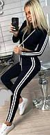 Спортивный костюм женский с лампасами  вв149, фото 1