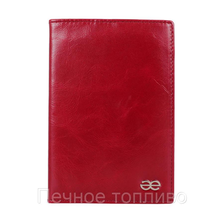 Обложка для паспорта Бордовая