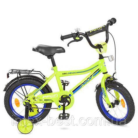 """Двухколесный велосипед Profi Top Grade 16"""" Салатовый (Y16102), фото 2"""