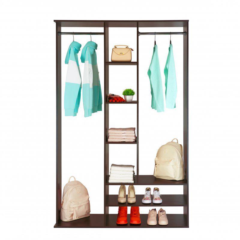 Стойка-шкаф для одежды Галлант 5 с полками