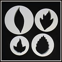 Набор катеров Лист Листья (4 шт), фото 1