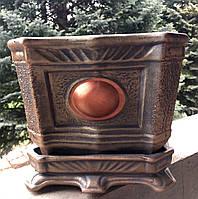 Цветочник квадрат акрил, фото 1