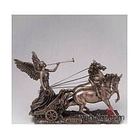 Статуэтка Veronese Ника на колеснице 75984A4, богиня победы