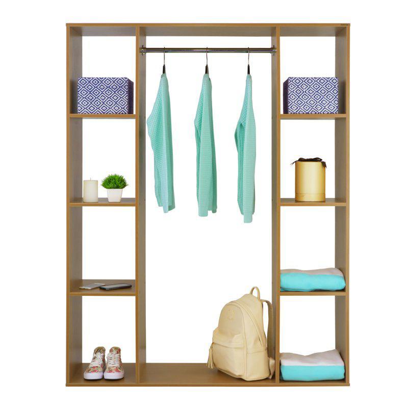 Стойка-шкаф для одежды Галлант 4В (дерево/металл)