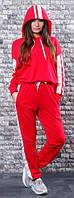 Спортивный костюм женский с лампасами  оль152, фото 1