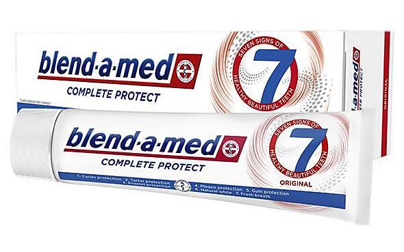 Освіжаюча зубна паста Blend-a-med Complete 7 original 100 ml