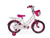 Велосипед дитячий MERMEID CROSSER-8 16 дюймів. Малиновий, фото 1