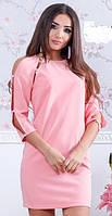 Платье женское с открытыми плечами  оль150
