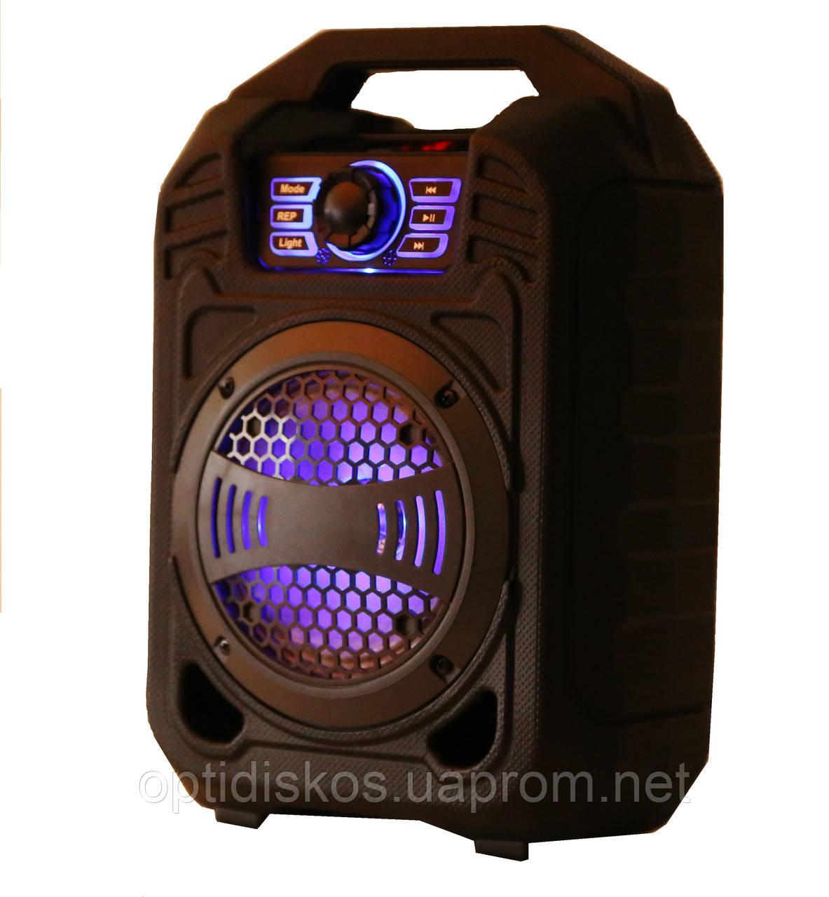 Bluetooth портативная колонка чемодан B13 (BL,USB,SD,FM, AUX),сеть/акк, светомузыка, микрофон, звукозапись