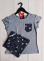Пижамы женские Exclusive, Playboy - штаны и футболка.