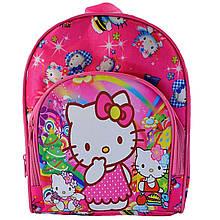 Рюкзак детский большой с карманом на молнии