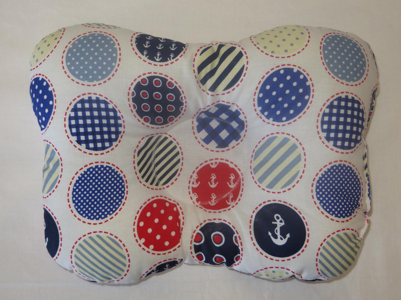 Подушка для новорожденных морской горох
