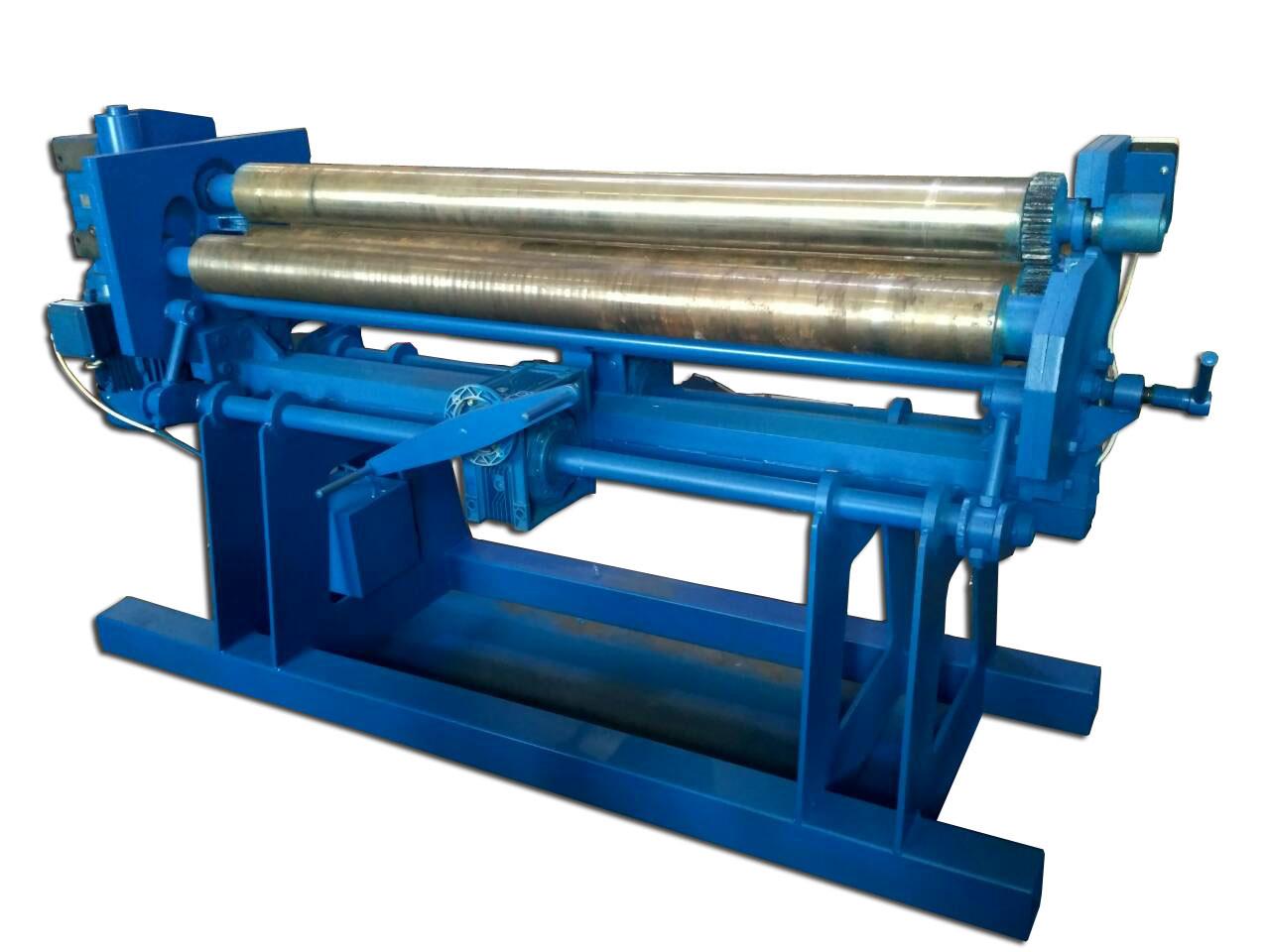 Трехвалковая листогибочная машина | Вальцы промышленные ВЭР1050х3 / ВЭР2000х10 PSTech