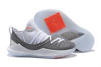 Баскетбольные кроссовки UA Curry 5 Low white-grey