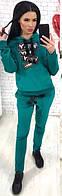 Спортивный костюм женский из турецкого велюра  аан1147, фото 1