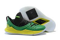 Баскетбольные кроссовки UA Curry 5 Low green
