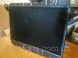 Радиатор охлаждения двигателя ВАЗ-2105 (2-х рядный) медный (пр-во Оренбург) 2105-1301.012-60