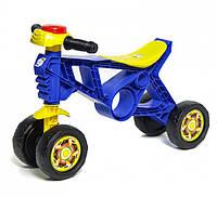 Детский мотоцикл-беговел 2 Орион 188B синий Royaltoys
