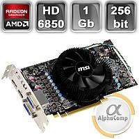 Видеокарта PCI-E ATI MSI HD6850 (1Gb/GDDR5/256bit/HDMI/DP/2xDVI) OC БУ