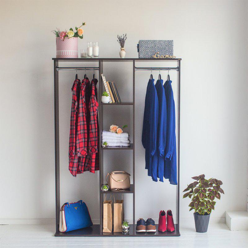 Стойка-шкаф для одежды Галлант 3В