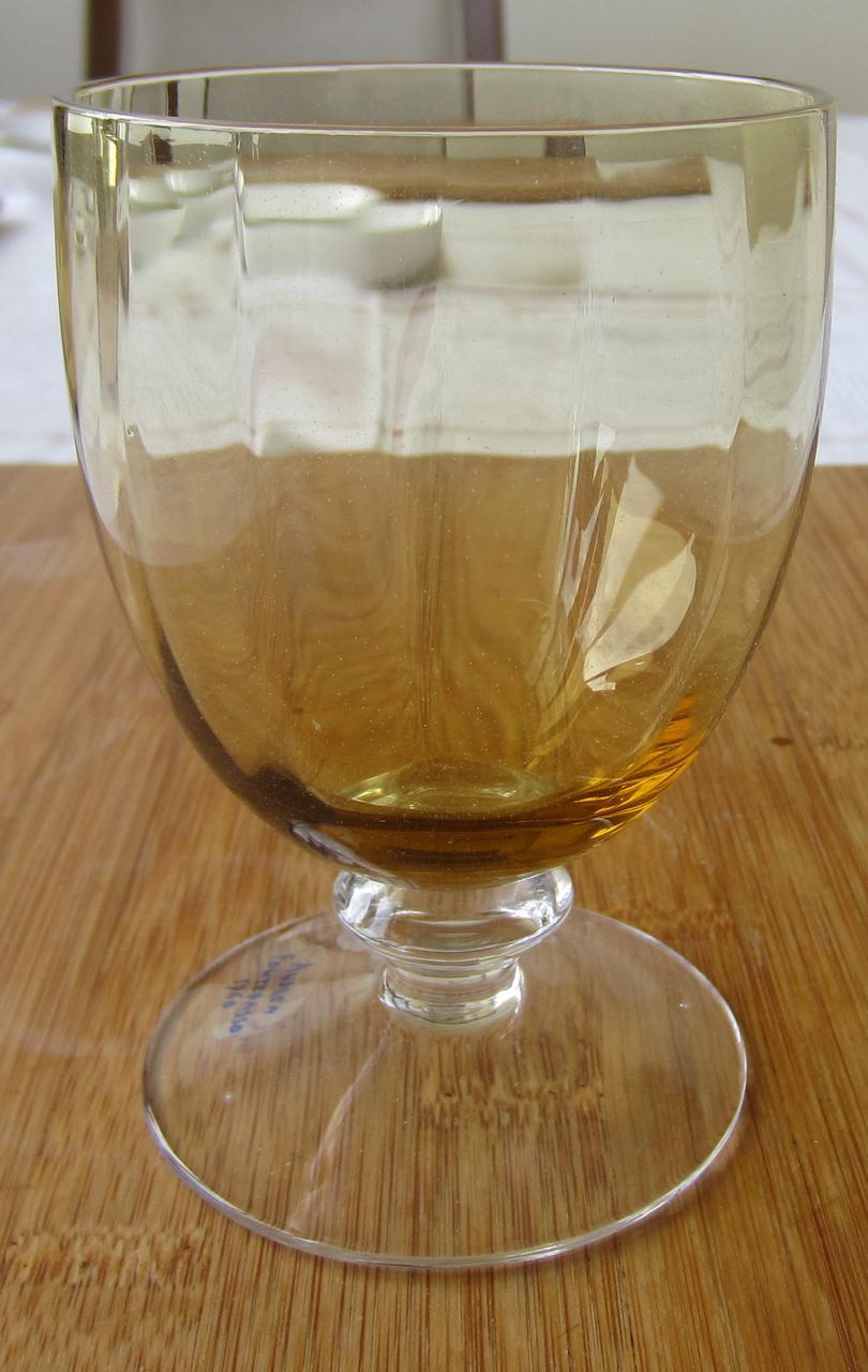 Набор цветных бокалов для воды/вина Irene