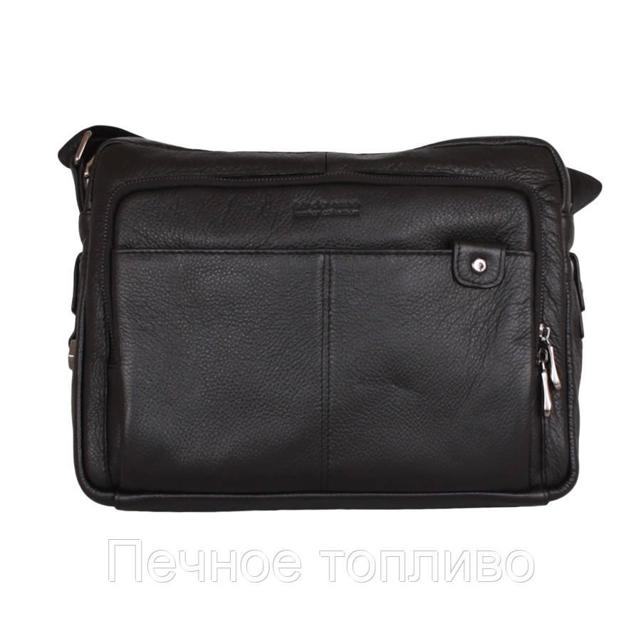 Вместительный портфель формата А4 из кожи ФОТО