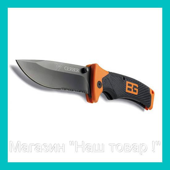Туристический складной нож Gerber Bear Grylls!Акция