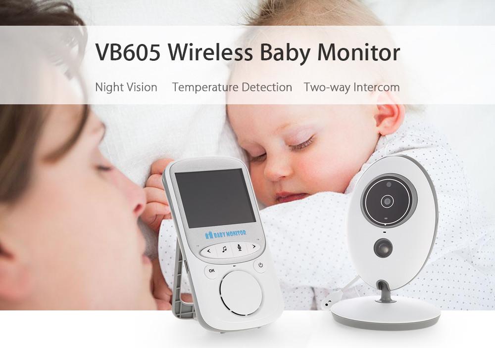 Уценка. Видеоняня Baby Monitor VB605 ночное видение,двусторонняя связь,русский язык