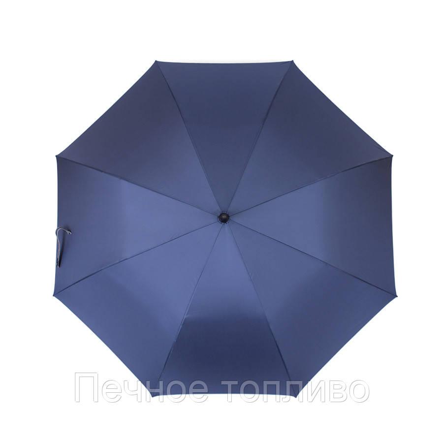 Зонт-трость полуавтомат Синий