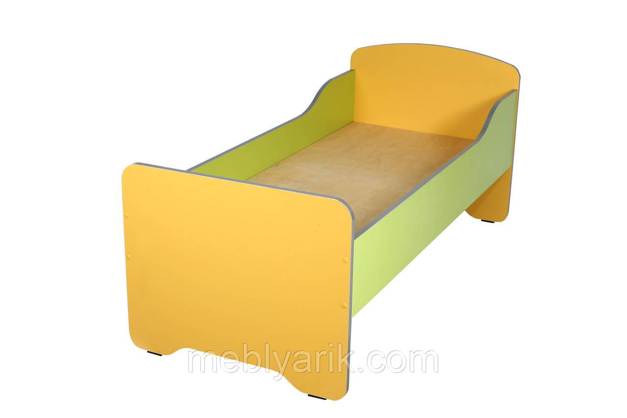 Кровать детская с высокими быльцами (без матраса)