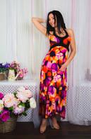 Сарафан летний длинный в пол, сарафан яркий цветной, сарафан красивый молодежный повседневн , фото 1