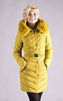 Молодежная зимняя куртка удлиненная №223