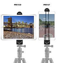 Держатель для планшета, Холдер для iPad, Крепление планшета под штатив, адаптер планшета под трипод, монопод., фото 2