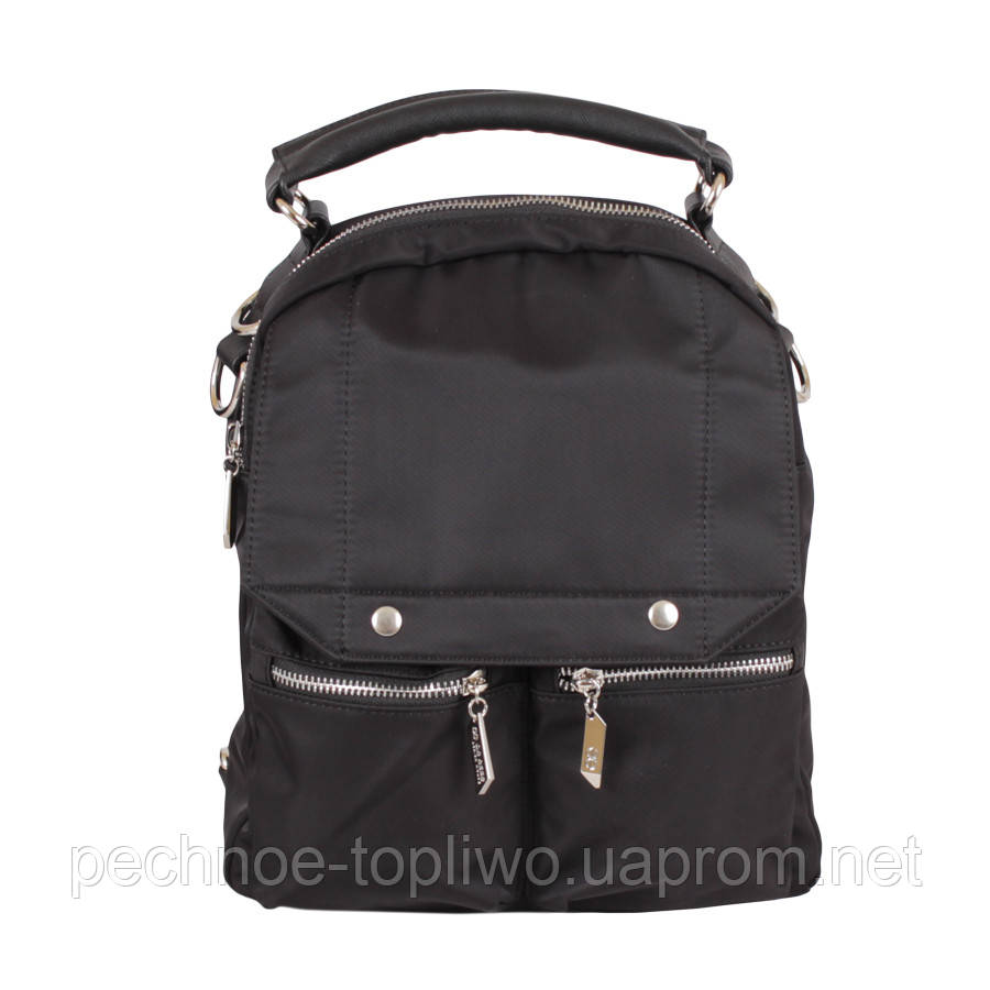 Сумка-рюкзак D22808-1Z Черная