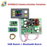 DC-DC Понижающий преобразователь напряжения DPS5015 50V 15A с Bluetooth платой