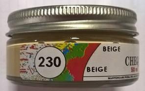 Крем для обуви цвет бежевый (код 230)