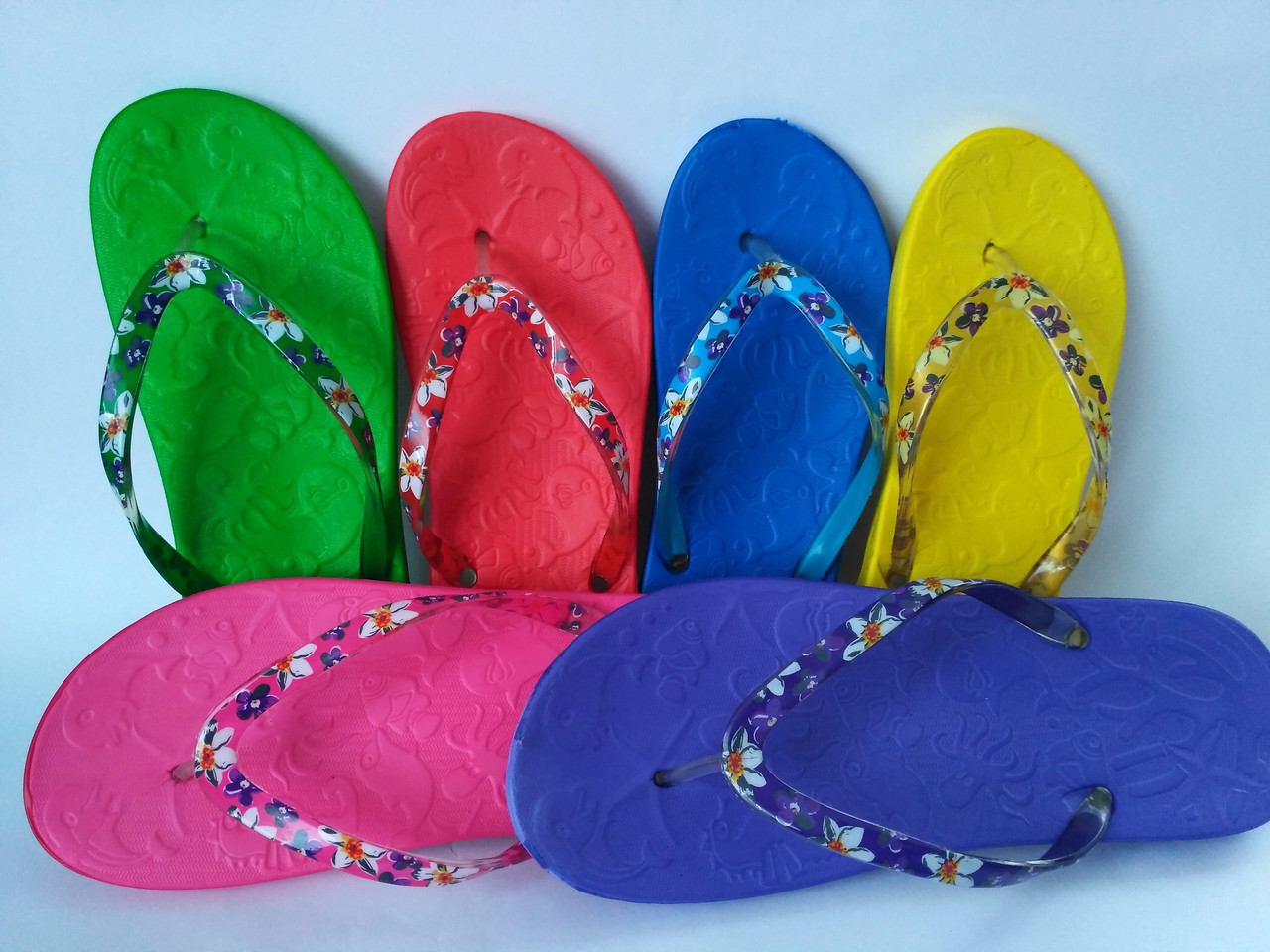 557d4a991 Яркие вьетнамки (сланцы) для девочки ( р. 30-35): продажа, цена в ...