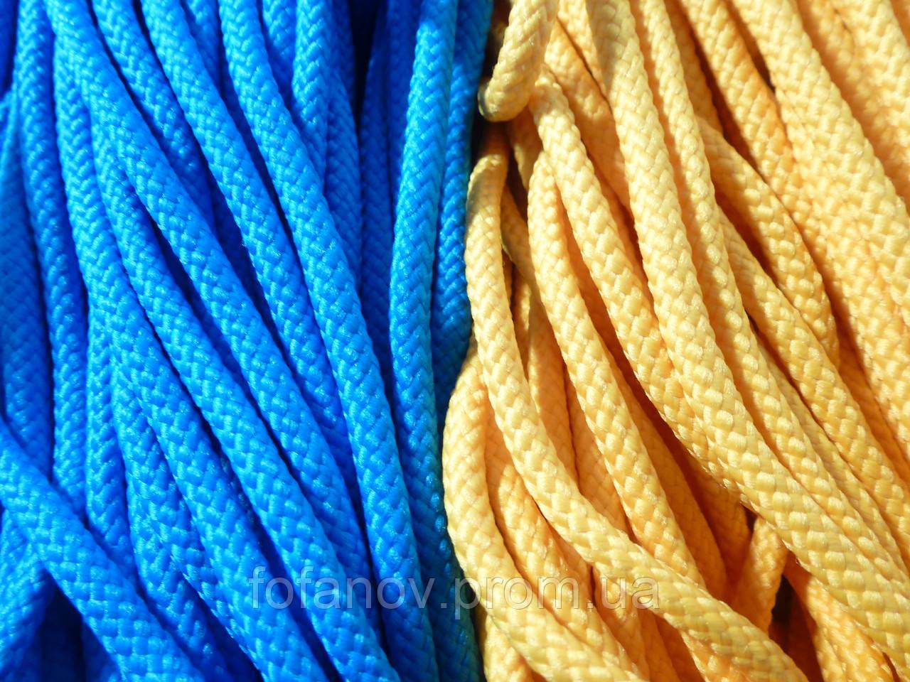 купить шнур 3 мм полиэфирный цветной от 100 м в киеве шнур 3 мм