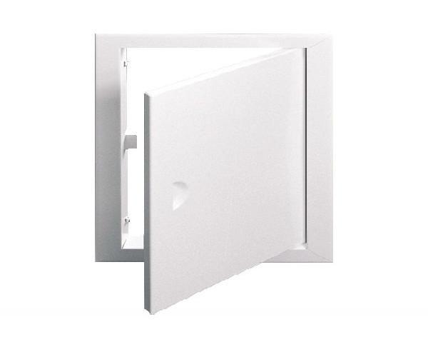 Дверца ревизионная металлическая 10*10 коричневая