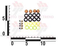 Ремкомплект форсунок ВАЗ 2110-12 (к-т на 4 форсунки) (кольца, фильтры, колпачки) г.Тольятти