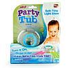 Игрушка для ванны, светиться, держится на воде party in the tub light