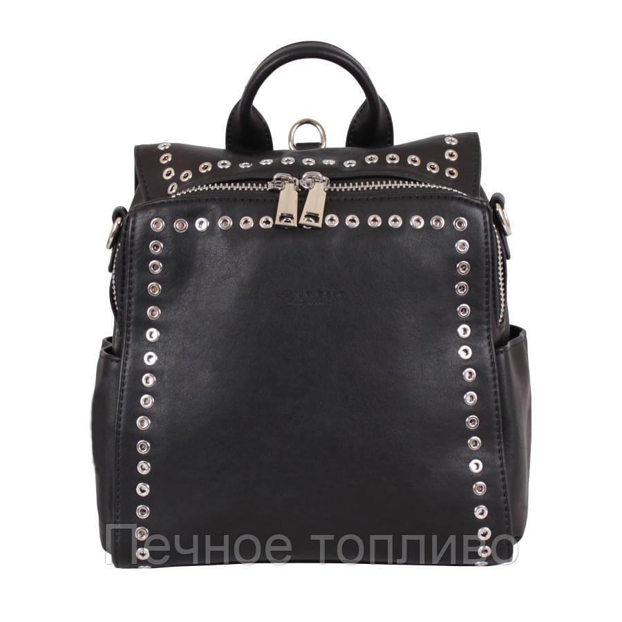 Сумка-рюкзак D23112-4001 Черная