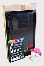 Рекламная неоновая вывеска, светодиодная Flash(флеш) панель, 50 на 70 см + 6 маркеров + тренога, фото 2
