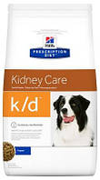 Лечебный корм для собак Хиллс (Hill's Prescription Diet Canine) K/D, почки+сердце,  2 кг